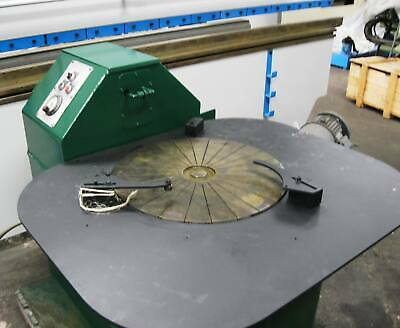 "LAPMASTER 24"" LAPPING MACHINE Slurry Pump Table 24"" Diameter"