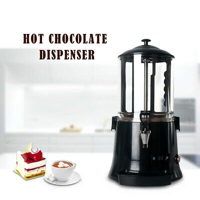 Commercial Hot Chocolate Dispenser Drinks Machine Black 10L CE Marked LED Screen
