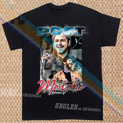 New Inspired By Post Malone Stoney T Shirt Limited Merch Tour