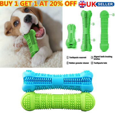 Pet Dog Bone-shape Toothbrush Brushing Chew Toy Stick Teeth Cleaning Oral Care*