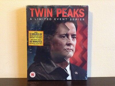 Twin Peaks: A Limited Event Series (Slipcase Version) [Blu-ray] *NEW*