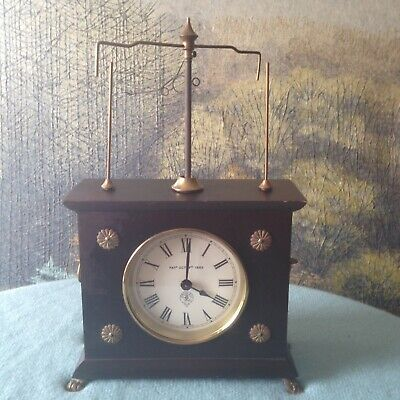 Vintage JEROME & CO. ~HOROLOVAR Flying Pendulum Wind-Up CLOCK Patented in 1883