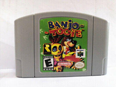 Banjo Tooie - For N64 Video Games Cartridges N64 Console US Version free ship