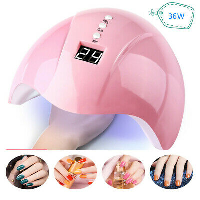 36W Nail Art USB Nail Lamp UV12 LED Light Nail Gel Dryer Curing Polish Machine L