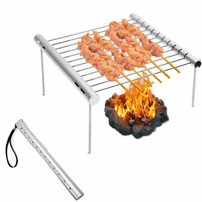 Mini Kugelgrill Grill Holzkohlegrill Gelb Smiley Picknick Camping BBQ Festival