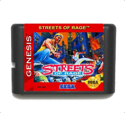 Street Of Rage 16 bit MD Game Card For Sega Mega Drive For Genesis