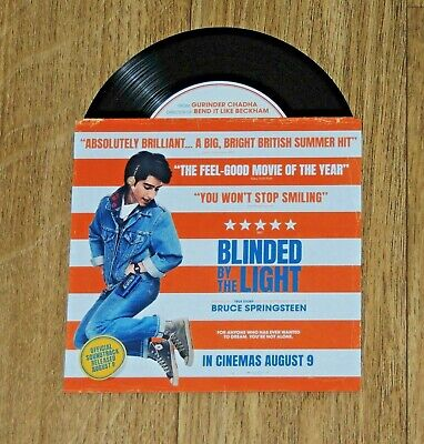 Blinded By The Light New Movie Cinema Only Promotional Card Bruce Springsteen Bn