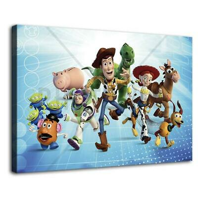 toy story main characters HD Canvas prints Home Decor Wall art picture 12X18inch