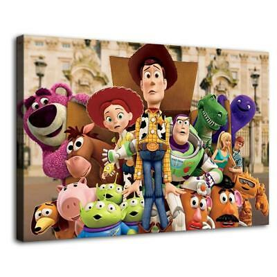 """12""""x18"""" toy story characters HD Canvas prints Home Decor Wall art pictures"""