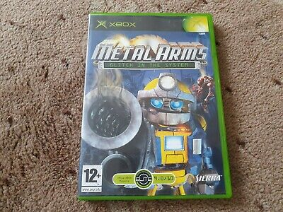 METAL ARMS - Glitch In The System - Microsoft Original Xbox Game