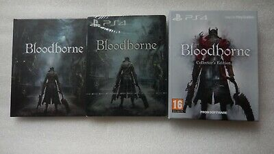 Bloodborne Collectors Edition PS4 Steelbook, Art Book, DLC Soundtrack NEW SEALED