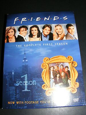 Friends - The Complete First Season (DVD, 2002) 4-Disc Boxed Set