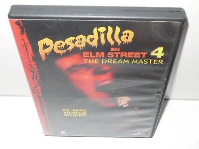 pesadilla en elm street 4 - the dream master - dvd