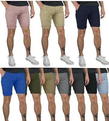 Mens Chino Shorts 100% Cotton Jeans Cargo Combat Half Pant Casual Designer