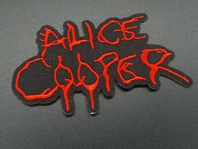 Parche Alice Cooper Coser O Bordar planchar Sew Or Iron rock patch