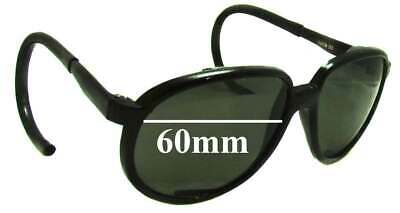 SFX Replacement Sunglass Lenses fits Anon Indee 60mm Wide x 39mm Tall