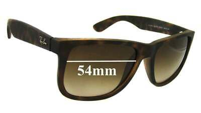 SFx Replacement Sunglass Lenses fits Ray Ban RB4165 Justin - 54mm wide *Please m