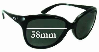 SFx Replacement Sunglass Lenses fits Oakley Pampered - 58mm Wide