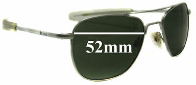 SFx Replacement Sunglass Lenses fits Randolph Engineering Aviator REUSA - 52mm w