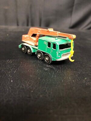 8 Wheel Crane Matchbox Series No. 30 Made in England by Lesney
