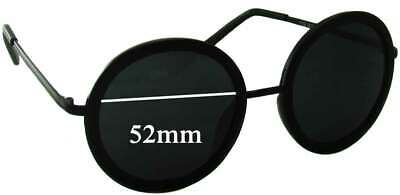 SFx Replacement Sunglass Lenses fits Rorgge 7778 - 52mm Wide
