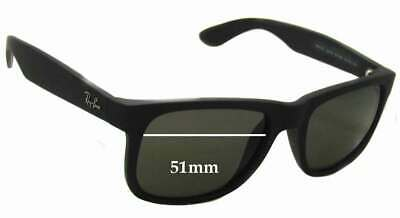 22991ddb0710 SFx Replacement Sunglass Lenses fits Ray Ban RB4165 Justin - 51mm wide  *Please m