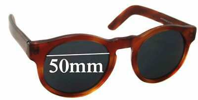SFx Replacement Sunglass Lenses fits Pagani Round - 50mm wide