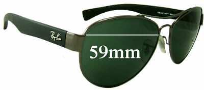 SFx Replacement Sunglass Lenses fits Ray Ban RB3491 - 59mm wide