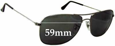 SFx Replacement Sunglass Lenses fits Ray Ban 3477 RB3477 - 59mm wide