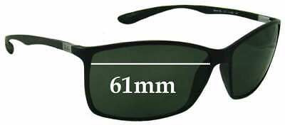 SFx Replacement Sunglass Lenses fits Ray Ban RB4179 Liteforce - 61mm wide