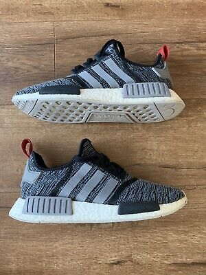 6c8af7fbc91 ADIDAS NMD R1 Glitch Camo Core Black Solid Grey Deadstock Men Size 5 ...