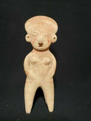 Pre-Columbian Chinesco Figure from Mexico. Ca. 300 bc.