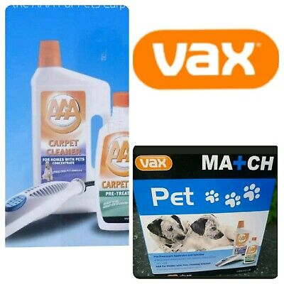 VAX MATCH PET PAWS CLEANING KIT WITH APPLICATOR for RAPIDE V-026, V027, V028
