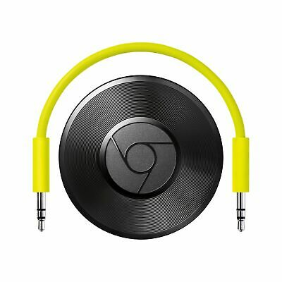 Google Chromecast Audio Media Streaming Device EU with US Adapter
