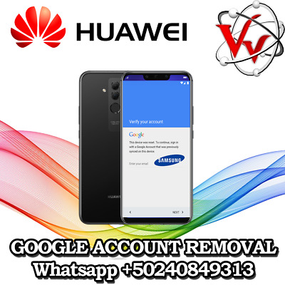 FRP Google Account Removal Service for Huawei All Models All Android Version