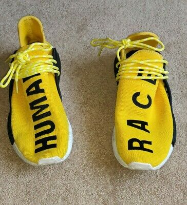 ADIDAS X Pharrell Williams Human Race Nmd Yellow Size 9.5