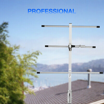 Portable Aluminum UHF-F 7dBi High Gain Yagi Antenna For 2 Way Radio Transceiver