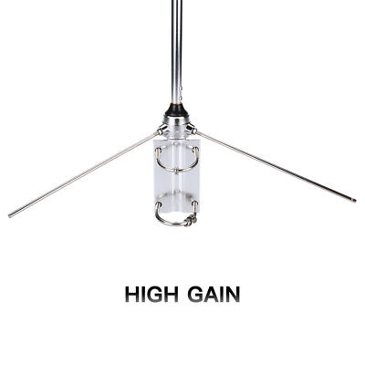 Aluminum Omni-Directional High gain 100W UHF Base Station Antenna 45.7Inch 116cm