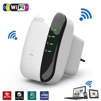 300Mbps Wireless WiFi Repeater/Extender/AP/2.4G WI-FI Signal Amplifier/Booster