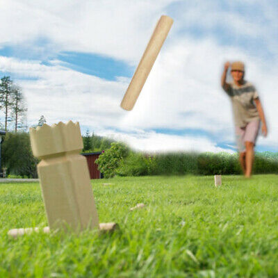 KUBB Lawn Chess Game Wooden Original Multi-participant Family outdoor games