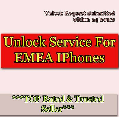 Fast Unlock Service For iPhone 7 8 & 7 Plus 8 PLUS code For EMEA WORLDWIDE