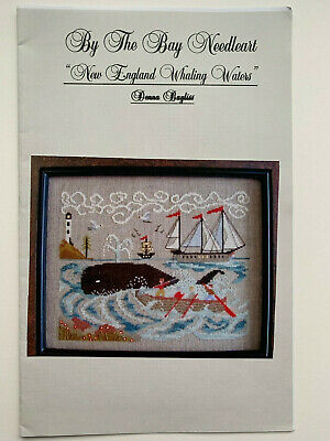 By the Bay Needleart - New England Whaling Waters -- Cross Stitch Pattern/Chart
