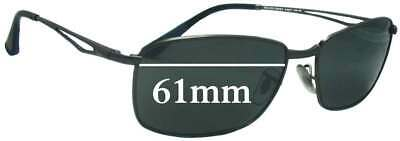 SFx Replacement Sunglass Lenses fits Ray Ban RB3501 - 61mm Wide