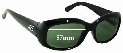SFX Replacement Sunglass Lenses fits Serengeti Nuvino 65mm Wide
