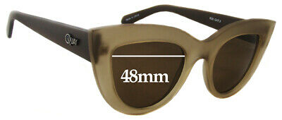 SFx Replacement Sunglass Lenses fits Quay Australia Kitti - 48mm wide