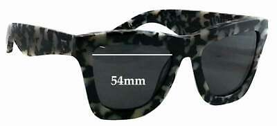 SFx Replacement Sunglass Lenses fits Valley DB - 54mm Wide x 45mm tall