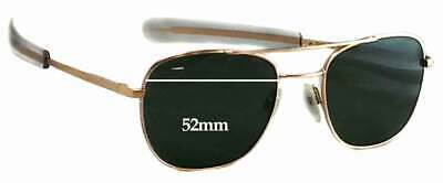 SFx Replacement Sunglass Lenses fits Randolph Engineering Aviator RE FGN - 52mm