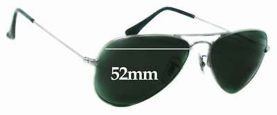 SFx Replacement Sunglass Lenses fits Ray Ban RB3044 Aviator Small Metal W3100 -