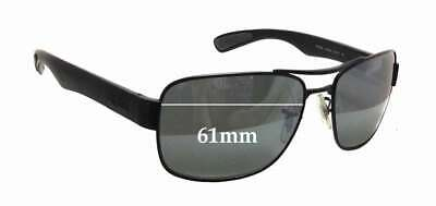 SFx Replacement Sunglass Lenses fits Ray Ban RB3522 - 61mm wide x 43mm tall