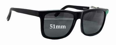 SFX Replacement Sunglass Lenses fits Quiksilver Preacher 57mm Wide